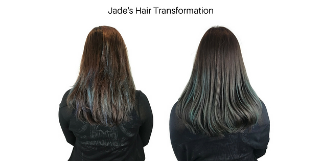 Reviving damaged hair caused by perm