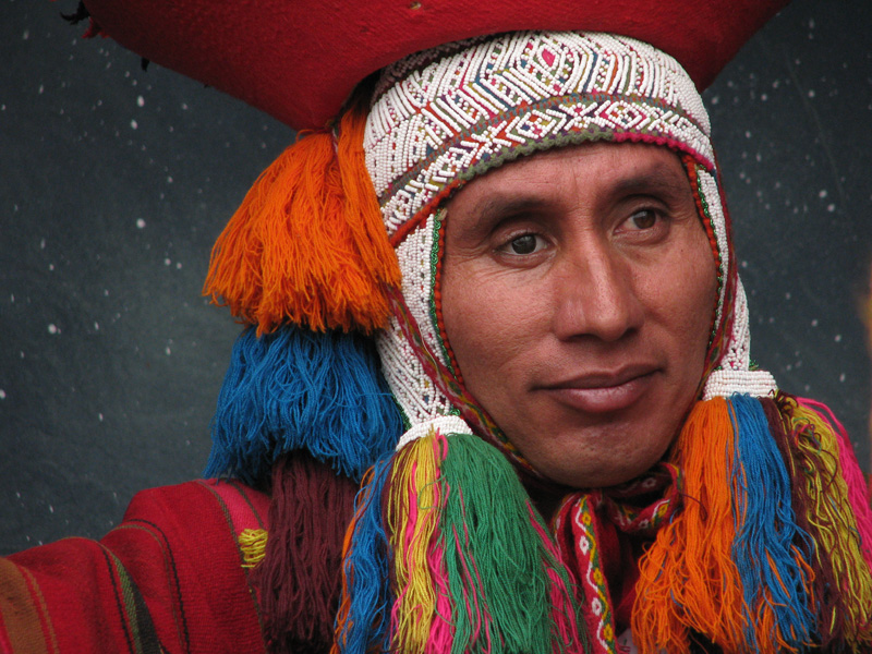 people group 11 quechua man
