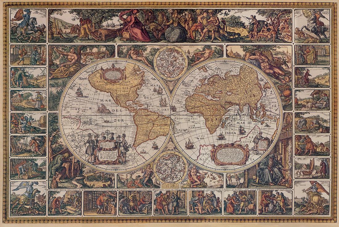 Vintage map 10
