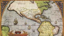 vintage map nova hispana