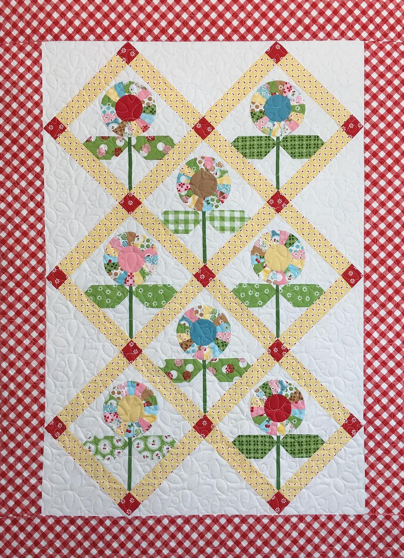 Flower Quilt by Sally Matoushek