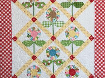 Sally Matoushek Flower Quilt