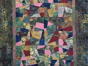 Annie Hays's Modern Scrappy Quilt