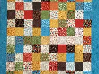 Nancy Thornton's Primary Colors Quilt