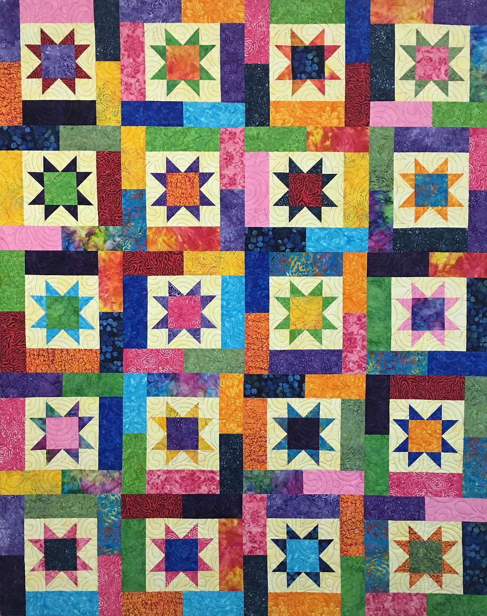 Festival Quilt by Marian Loep
