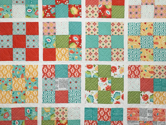 Colleen Williams Nine Patch Block Quilt