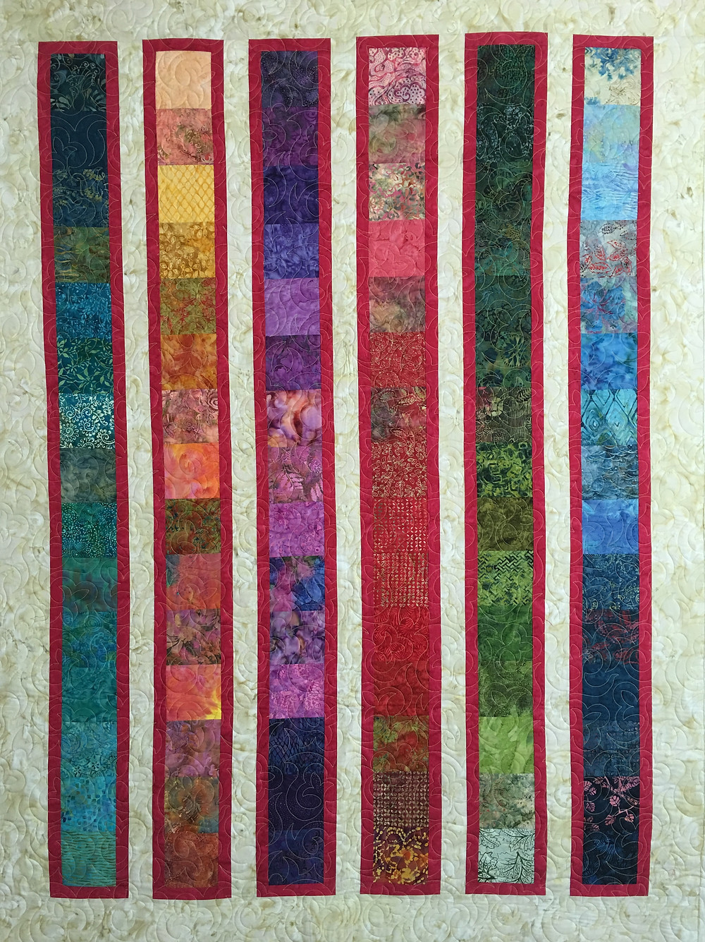 Sedona II Quilt by Peggy Krebs