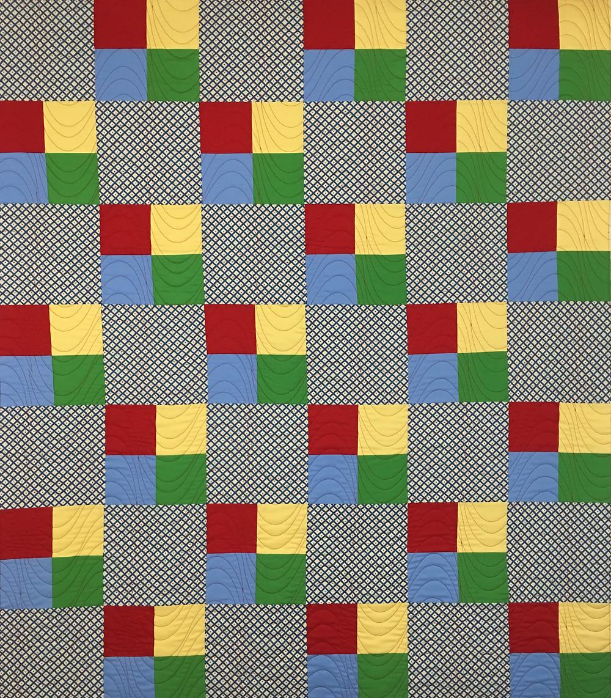 Four Patch Quilt by Debbie Gaston