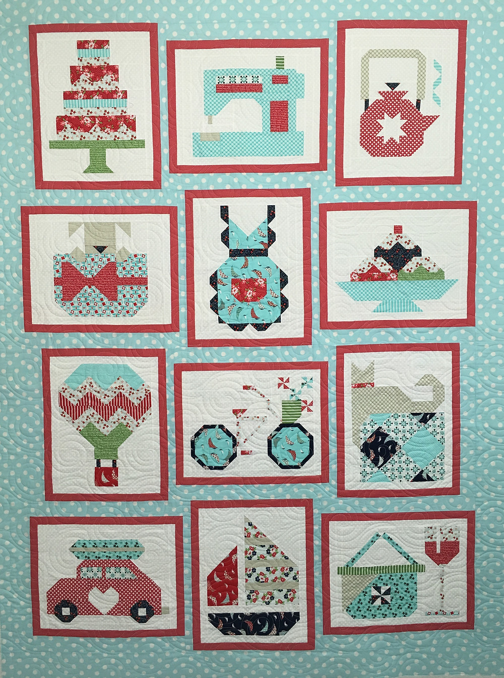 Snapshots Quilt by Amy Rice