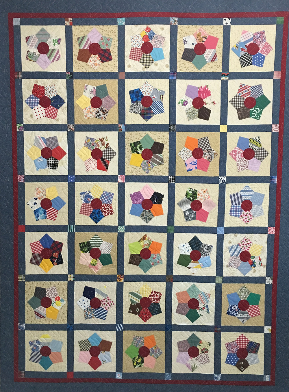 Daughter's Father in Law Quilt by Deb Taylor