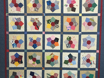 Deb Taylor Daughter's Father in Law Quilt