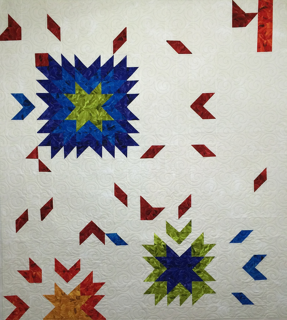 Beth Floating Star Quilt