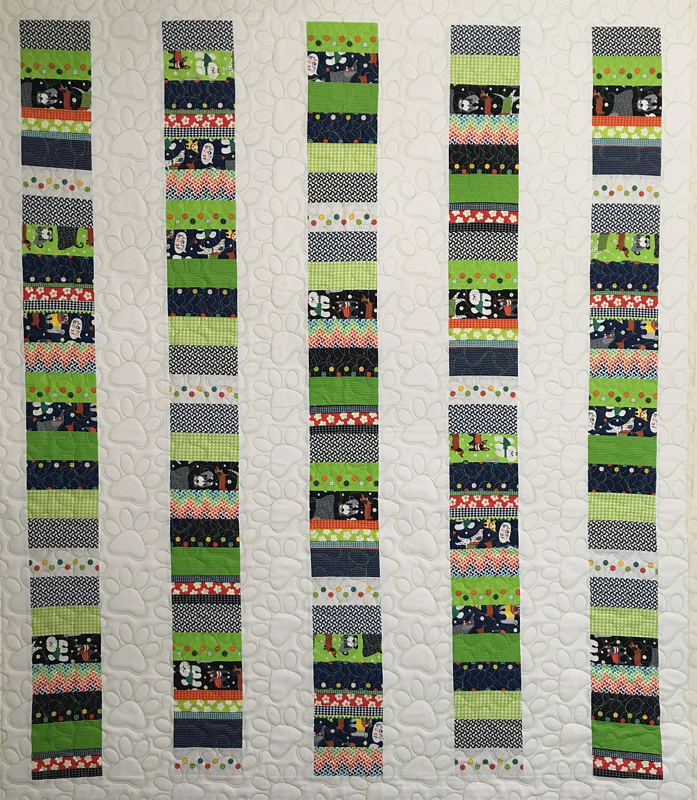 Stack of Coins Quilt by Elsa Murray