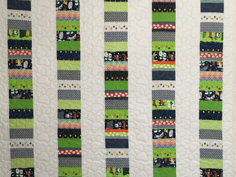 Elsa Murray Stack of Coins Quilt