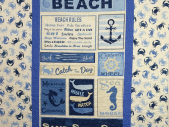 Beth Robertson Beach and Shell Quilt