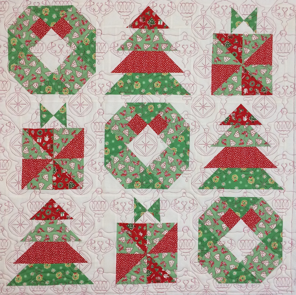 Christmas Wall Hanging quilt