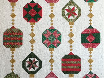 Mary Derryberry Christman Ornaments  Felicity by Date Spain Quilt