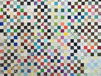 Jean Tucker Tons of Small Squares Quilt