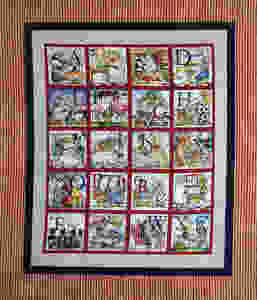 Rosemary Alphabet Quilt with Animals