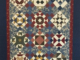 Terri Chavira Civil War Sampler Quilt