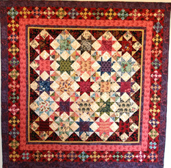 Red Stars Quilt