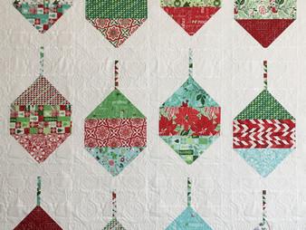 Delfina Guerra Christmas Ornament Quilt