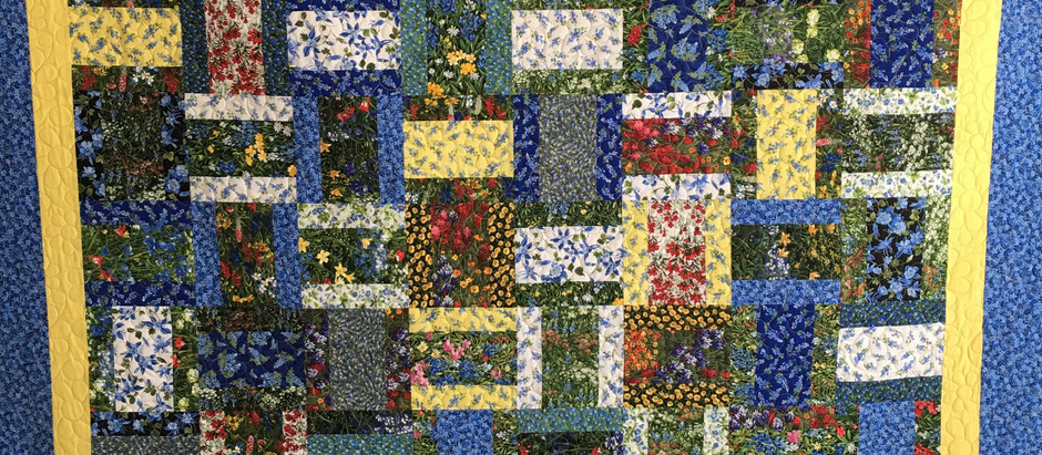 Chris Olsen Texas Wildflowers Jelly Layer Cake Quilt