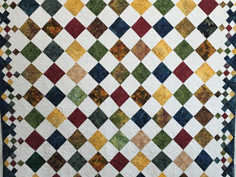 Roxane Darnell Diamond Patch Quilt