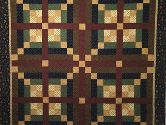 Toni Rocha Autumn Fall Colors Quilt
