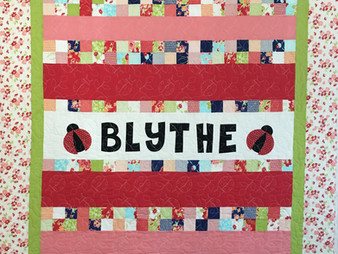 Leanne Strum Baby Quilt for Blythe
