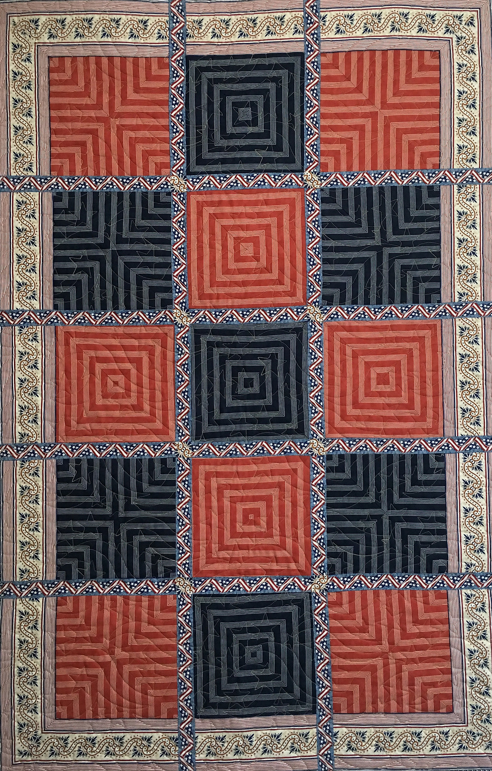 Americana Quilt version by Penny Wheat