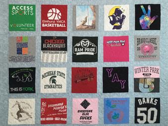 Leslie Goddard Caroline T Shirt Quilt