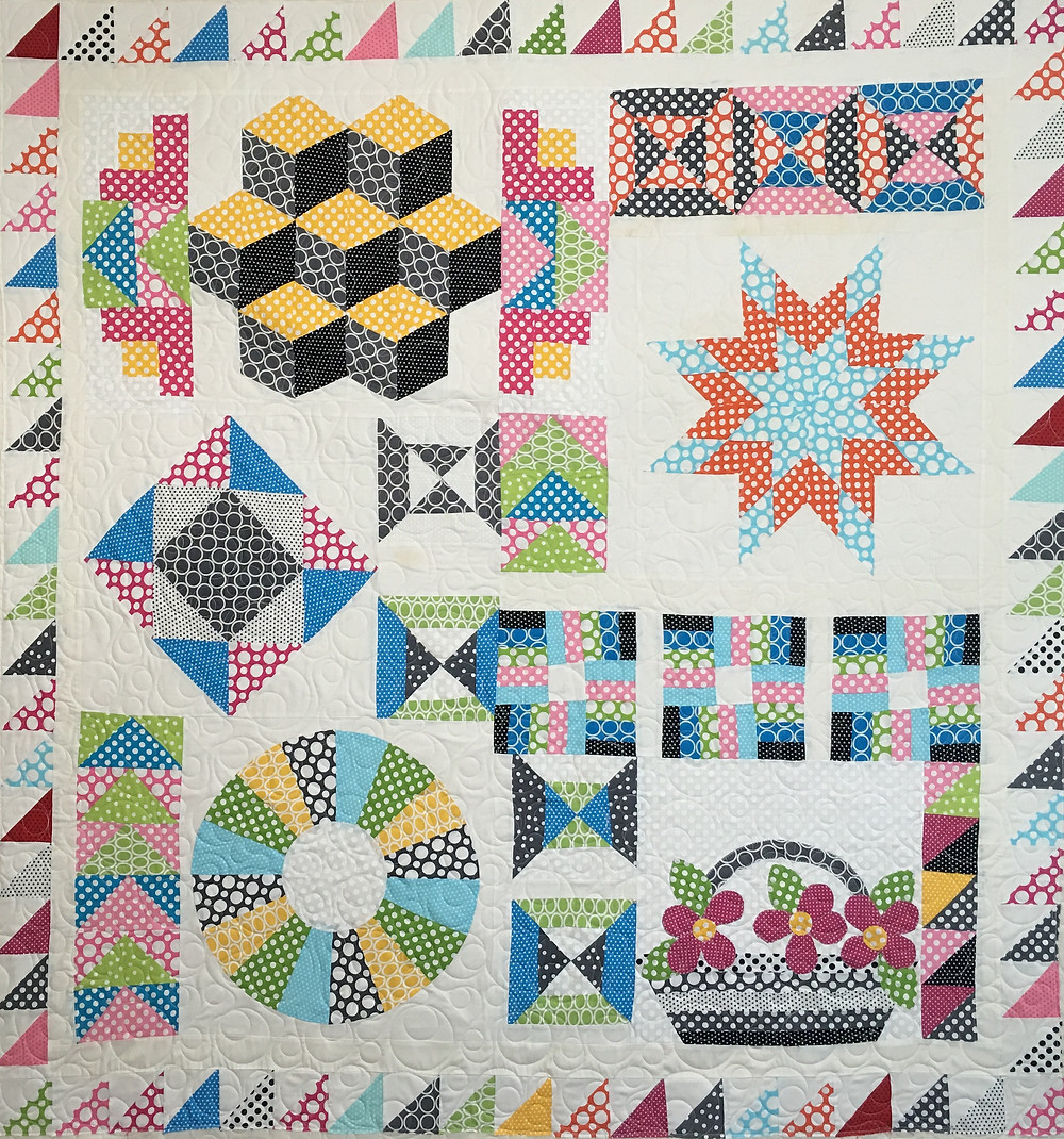 Bella Craftsy Block of the Month Quilt