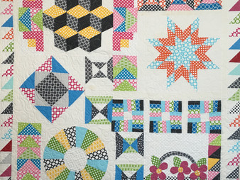 Bella Malis 2013 Craftsy Block of the Month Quilt