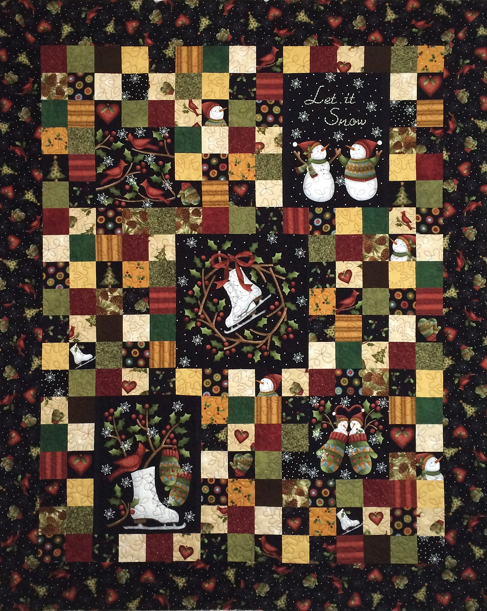 Leslie Holiday Quilt