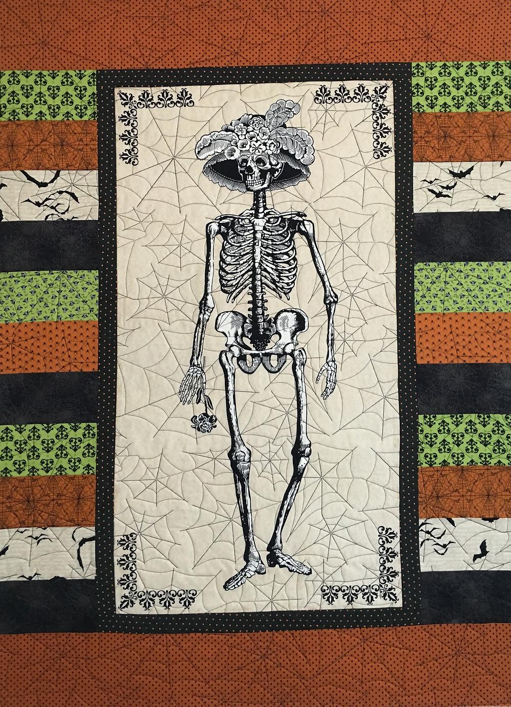 Halloween Quilt by Cheryl Cohorn