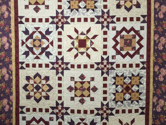 Mary Derryberry Sampler Quilt
