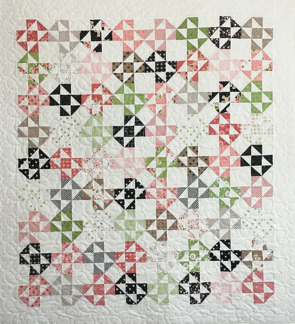 Cest La Vie Baby Quilt by Vickie Spradlin