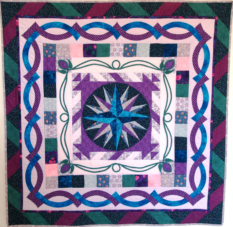 Round Robin Mariners Compass Quilt
