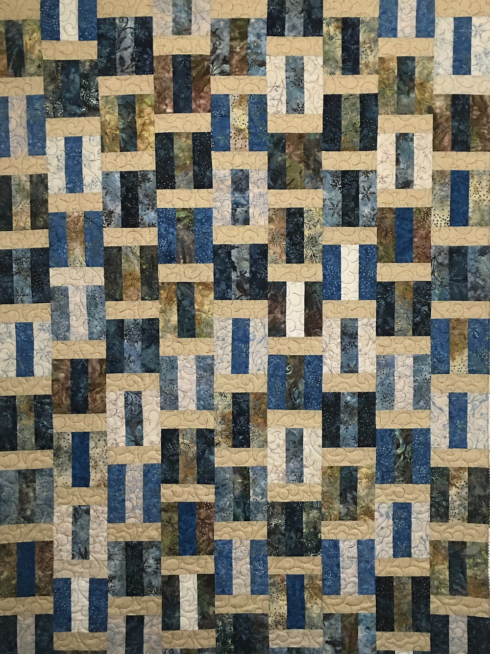 Neida Stacked Blocks Quilt