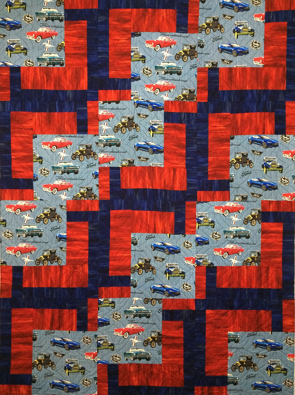 Beth Ford Cars Quilt