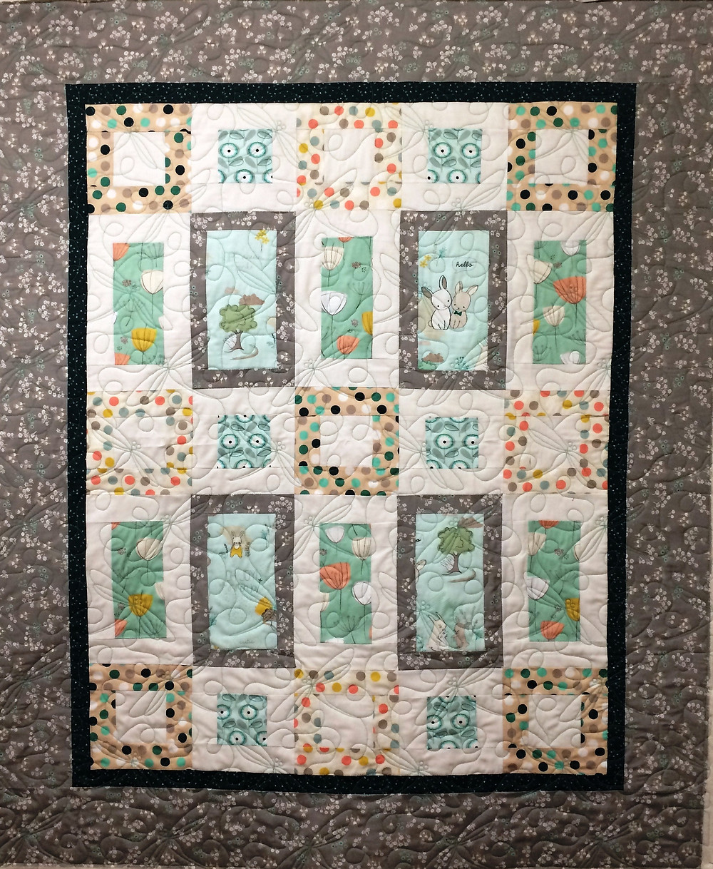 Baby Quilt by Susan Singer