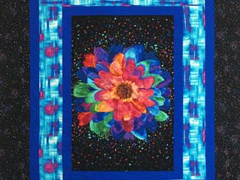 Jeri Couthen Confetti Flower Quilt