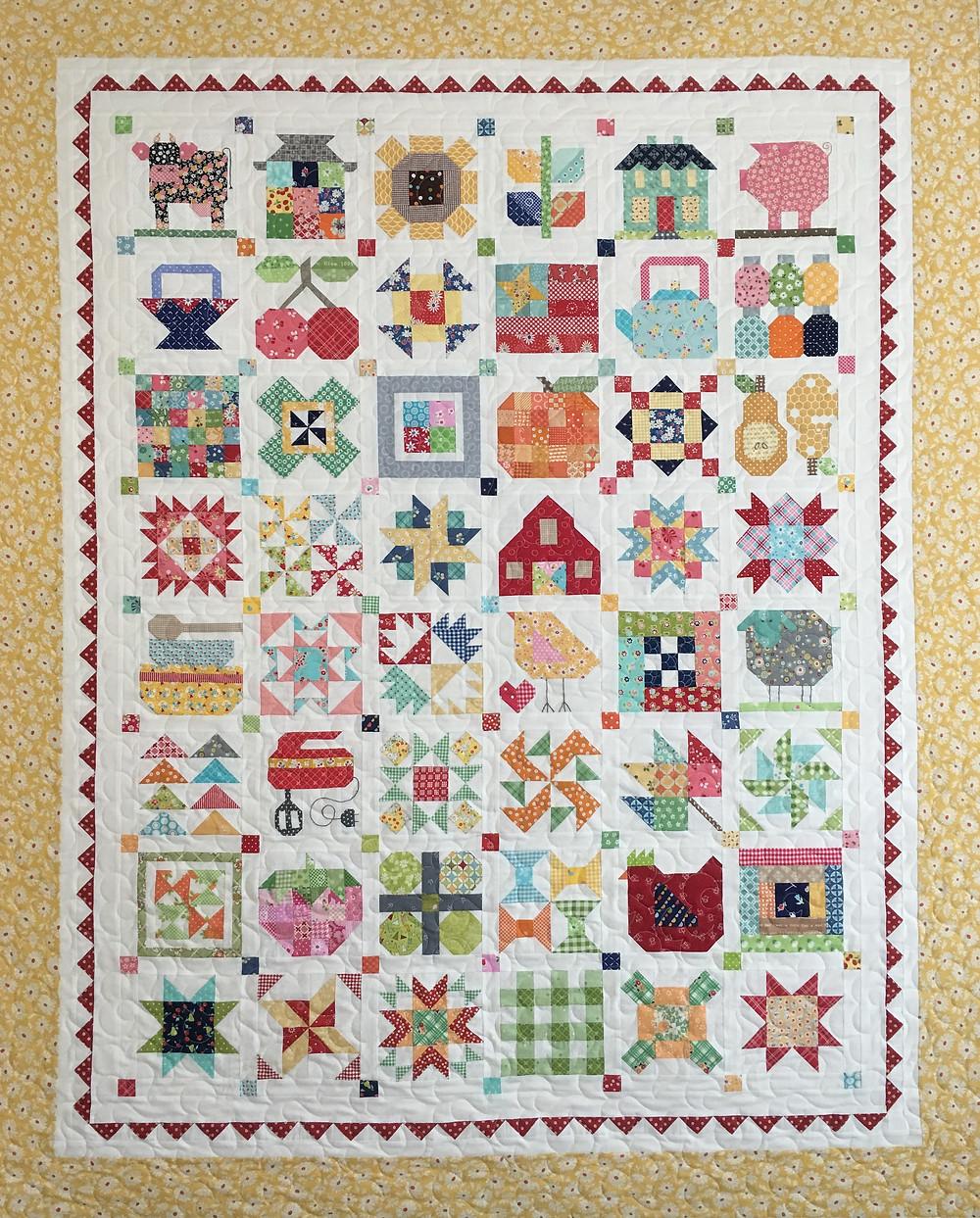 Sampler Quilt by Sally Matoushek