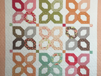 Sally Matoushek Fig Tree Pattern Quilt