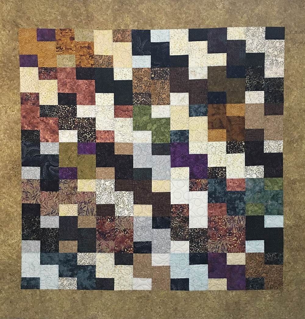 Layer Cake Mix Up Quilt by Elsa Murray