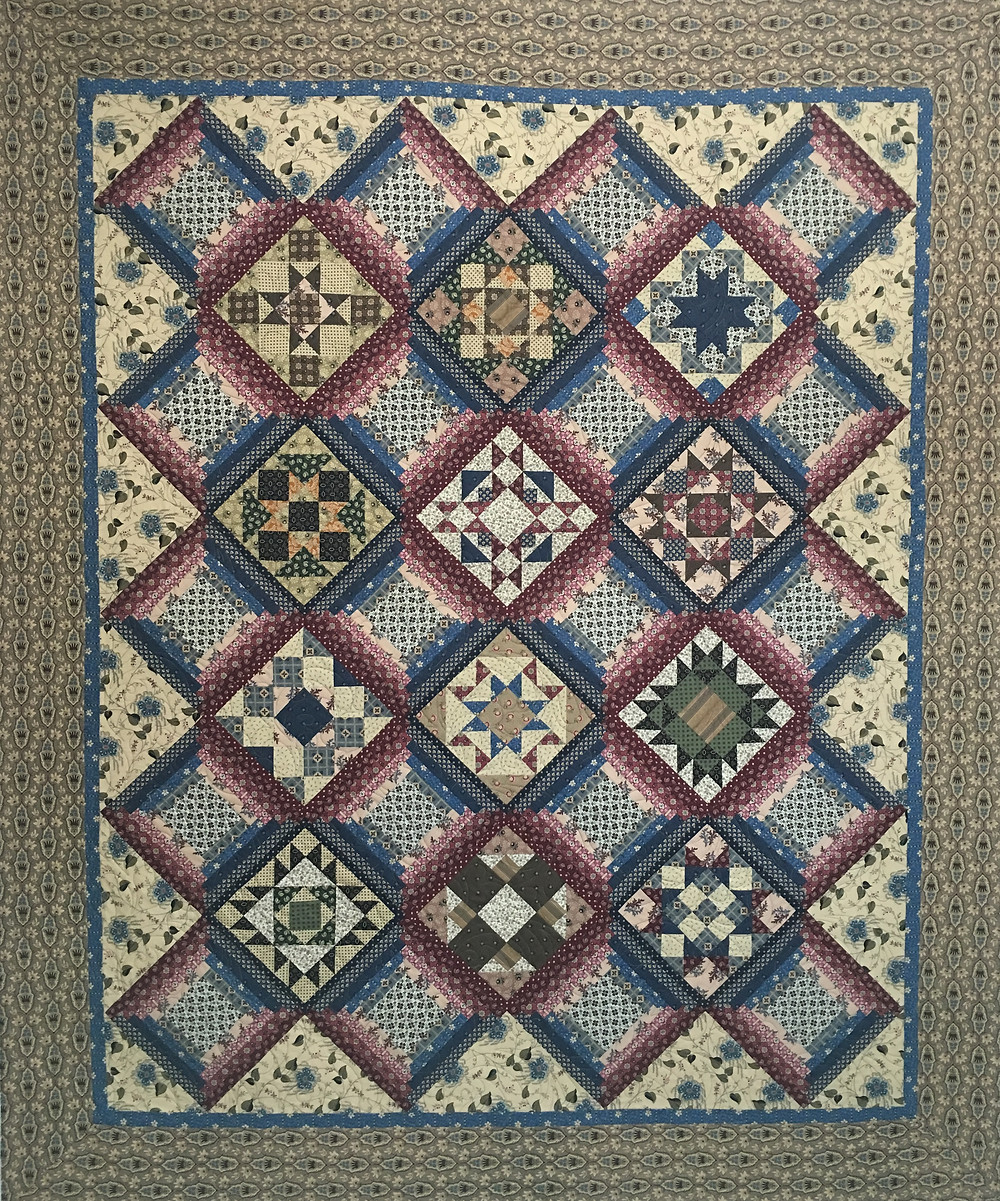 Sampler Quilt by Cindy Manning