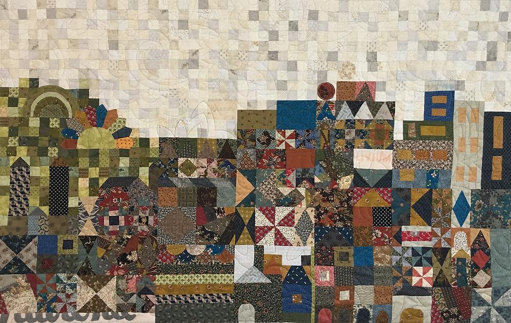 Small World Quilt by Jill Seward