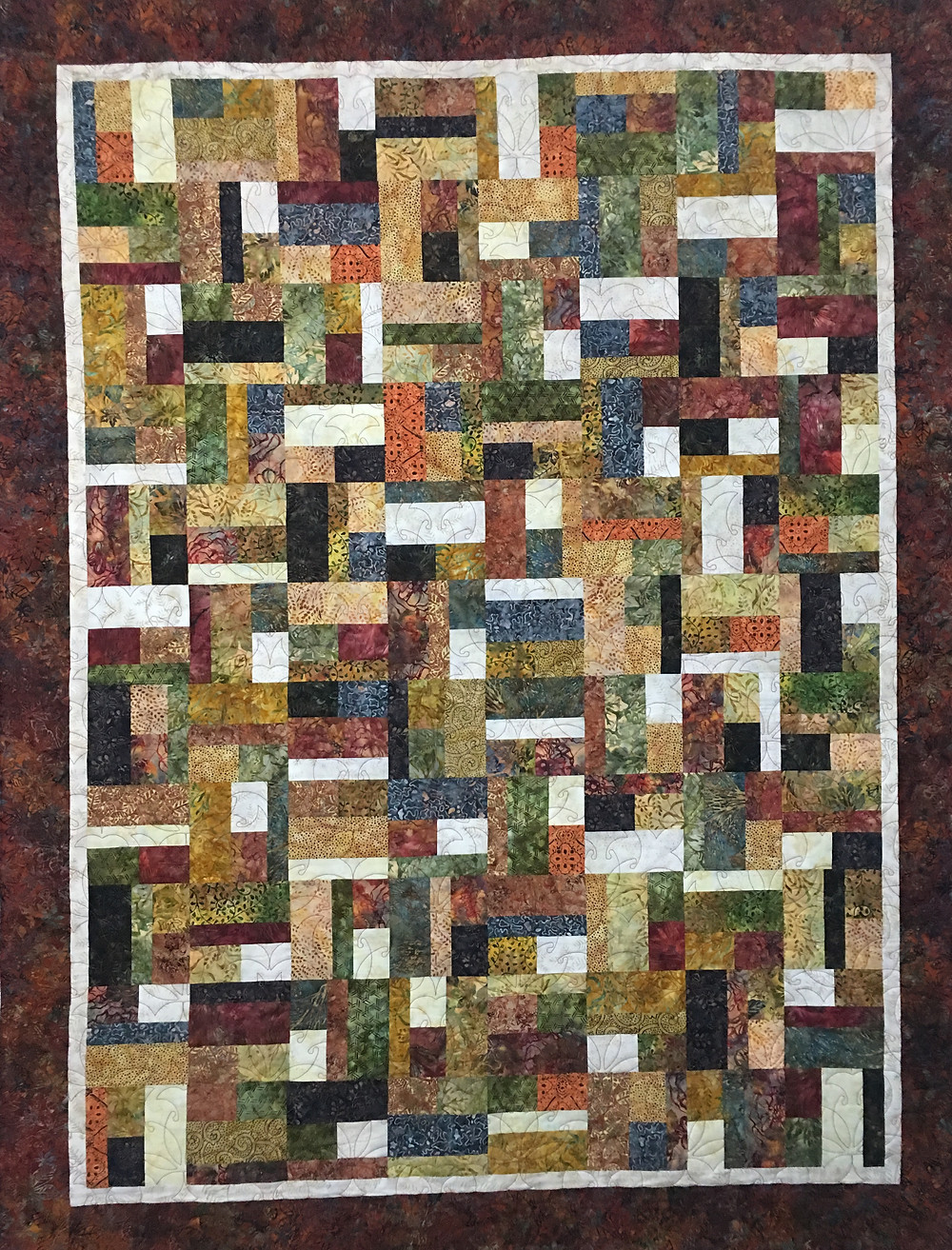 Bits and Pieces Quilt by Aline Babin