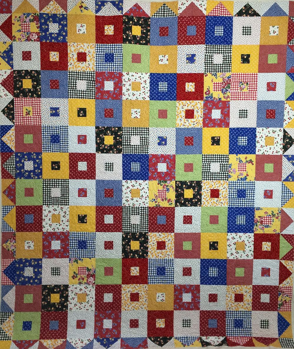 Deb block in a block quilt